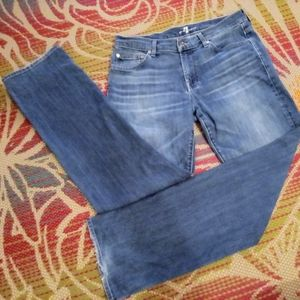 7 For All Mankind blue jeans sz 32